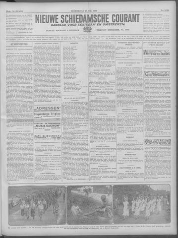 Nieuwe Schiedamsche Courant 1933-07-27