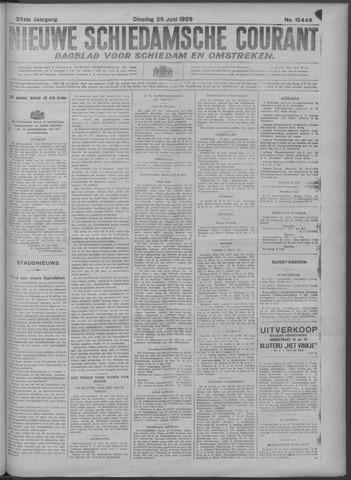 Nieuwe Schiedamsche Courant 1929-06-25