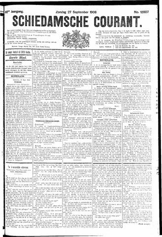Schiedamsche Courant 1908-09-27