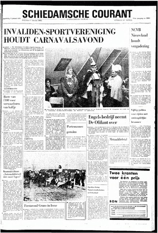 Rotterdamsch Nieuwsblad / Schiedamsche Courant / Rotterdams Dagblad / Waterweg / Algemeen Dagblad 1970-01-08