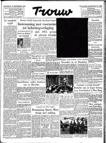 Trouw / De Rotterdammer 1954-11-10