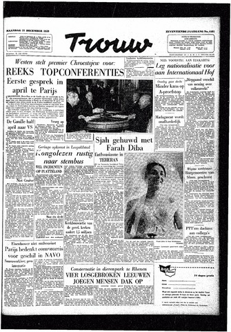 Trouw / De Rotterdammer 1959-12-21