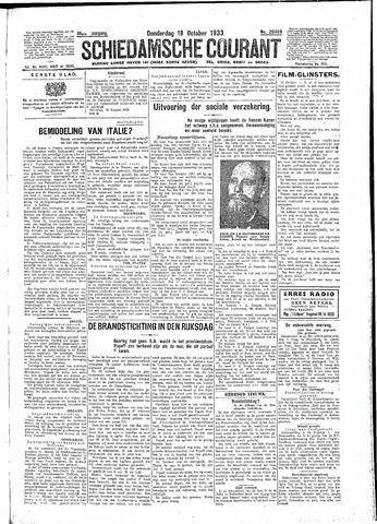Schiedamsche Courant 1933-10-19