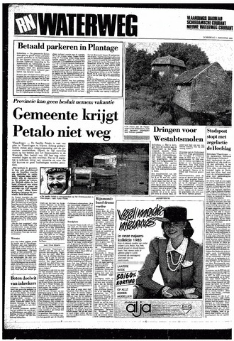 Rotterdamsch Nieuwsblad / Schiedamsche Courant / Rotterdams Dagblad / Waterweg / Algemeen Dagblad 1985-08-01