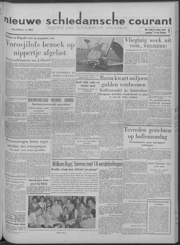 Nieuwe Schiedamsche Courant 1958-05-12