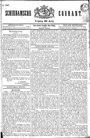 Schiedamsche Courant 1847-07-23