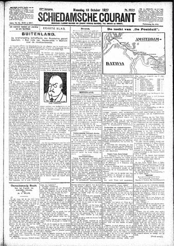 Schiedamsche Courant 1927-10-10