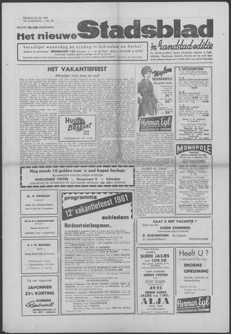 Het Nieuwe Stadsblad 1961-07-28