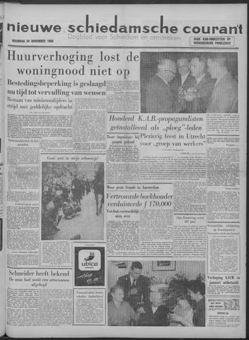 Nieuwe Schiedamsche Courant 1958-11-24