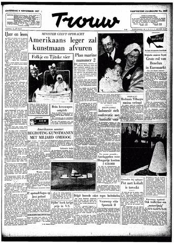 Trouw / De Rotterdammer 1957-11-09