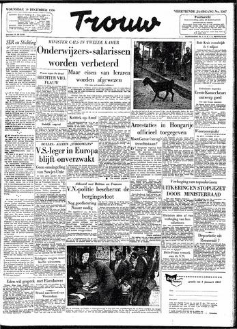 Trouw / De Rotterdammer 1956-12-19