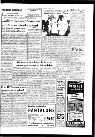 Rotterdamsch Nieuwsblad / Schiedamsche Courant / Rotterdams Dagblad / Waterweg / Algemeen Dagblad 1966-04-01