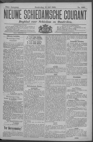 Nieuwe Schiedamsche Courant 1909-07-15