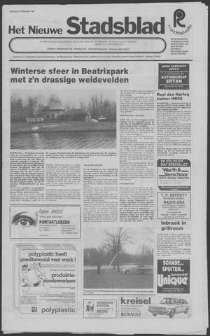 Het Nieuwe Stadsblad 1981-02-27