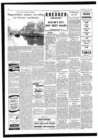 Rotterdamsch Parool / De Schiedammer 1955-07-14
