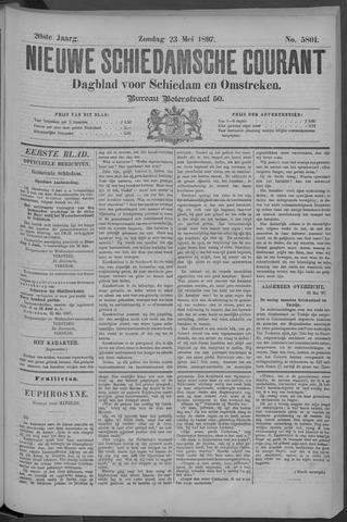 Nieuwe Schiedamsche Courant 1897-05-23