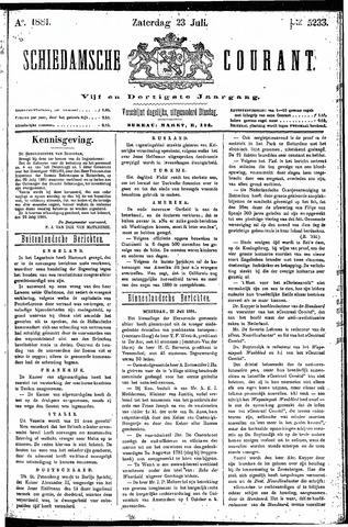 Schiedamsche Courant 1881-07-23
