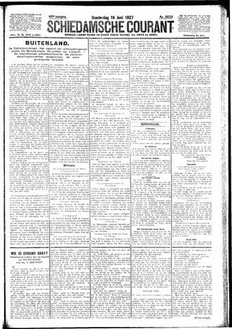 Schiedamsche Courant 1927-06-16