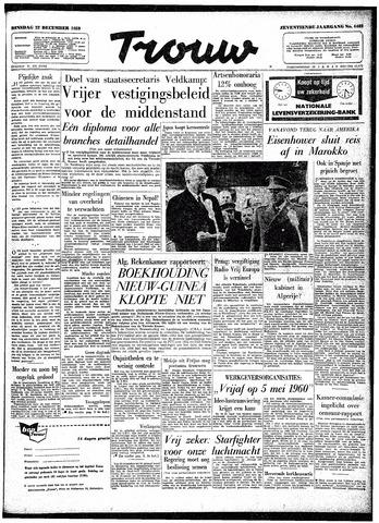 Trouw / De Rotterdammer 1959-12-22