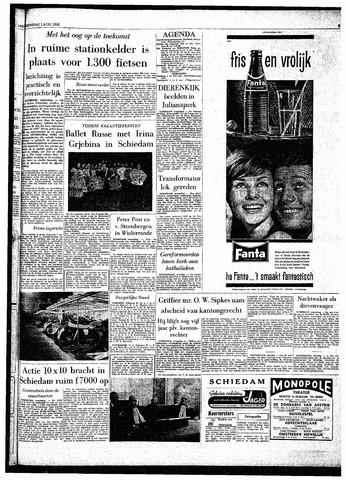 Rotterdamsch Parool / De Schiedammer 1962-08-01