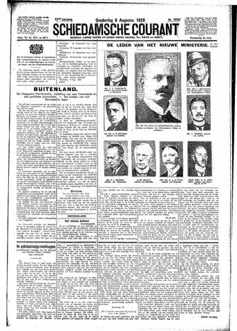 Schiedamsche Courant 1929-08-08