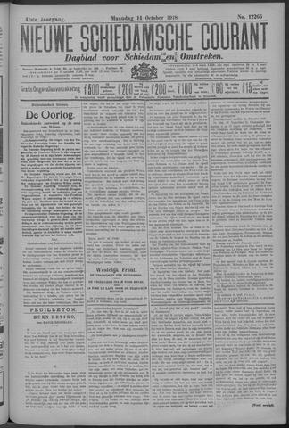 Nieuwe Schiedamsche Courant 1918-10-14