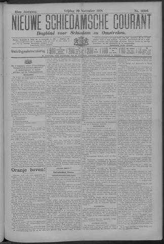 Nieuwe Schiedamsche Courant 1918-11-29