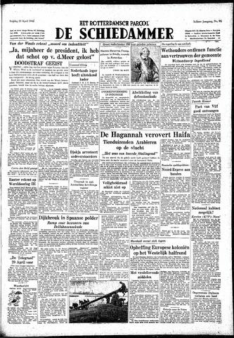 Rotterdamsch Parool / De Schiedammer 1948-04-23