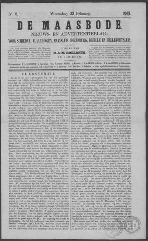 De Maasbode 1853-02-23