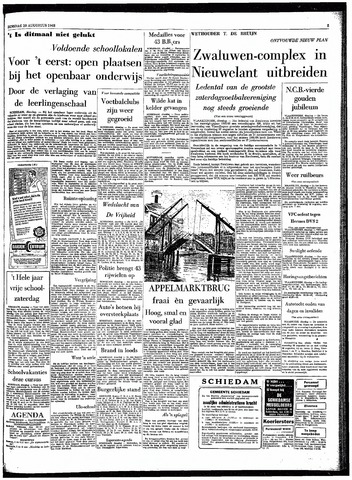 Rotterdamsch Parool / De Schiedammer 1963-08-20