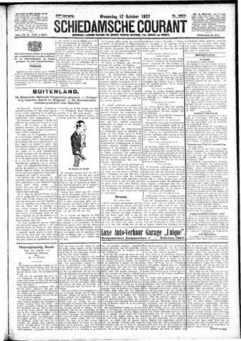 Schiedamsche Courant 1927-10-12