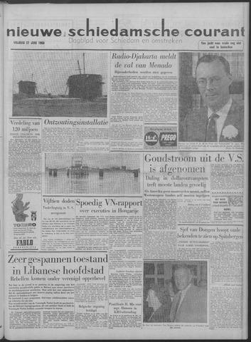 Nieuwe Schiedamsche Courant 1958-06-27