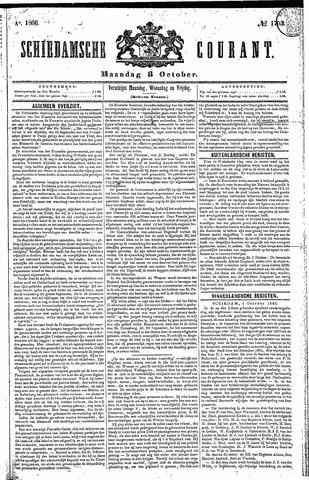 Schiedamsche Courant 1866-10-08