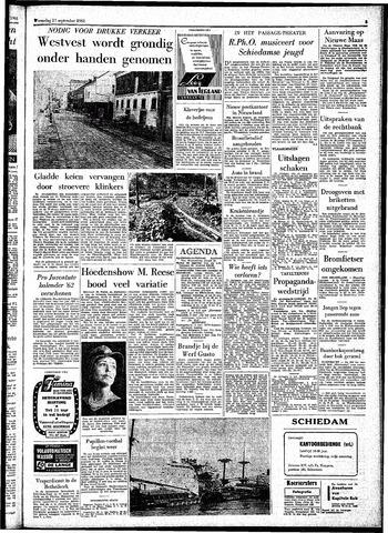 Rotterdamsch Parool / De Schiedammer 1961-09-27