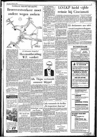 Rotterdamsch Parool / De Schiedammer 1961-01-09
