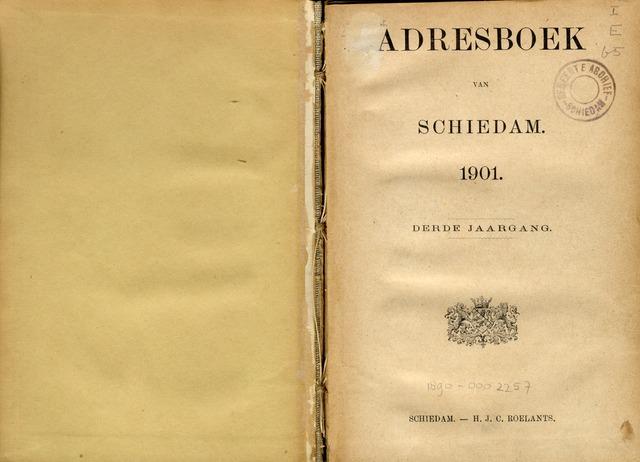 Adresboeken 1901-01-01