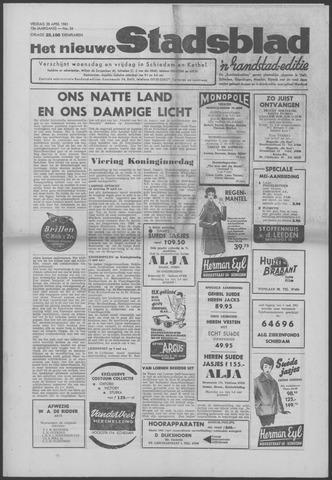 Het Nieuwe Stadsblad 1961-04-28