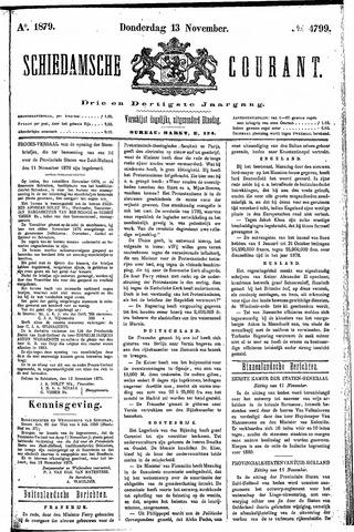 Schiedamsche Courant 1879-11-13