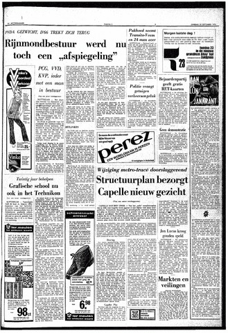 Trouw / De Rotterdammer 1970-09-29