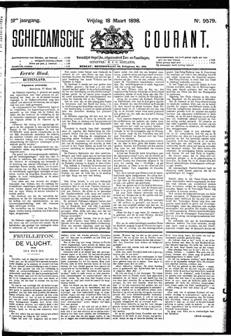 Schiedamsche Courant 1898-03-18