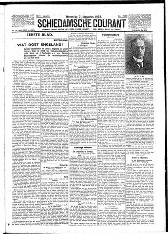 Schiedamsche Courant 1935-08-21