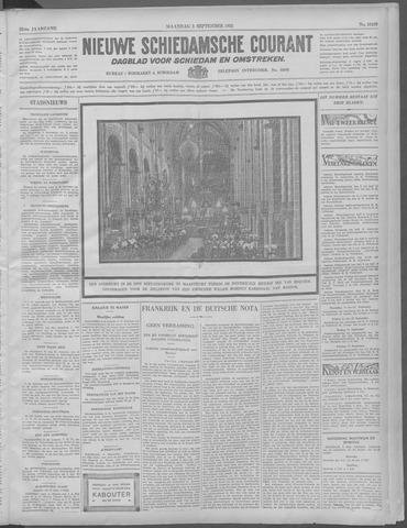Nieuwe Schiedamsche Courant 1932-09-05