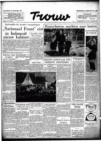 Trouw / De Rotterdammer 1958-01-27