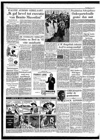 Rotterdamsch Parool / De Schiedammer 1957-05-13