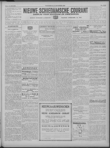 Nieuwe Schiedamsche Courant 1933-12-21