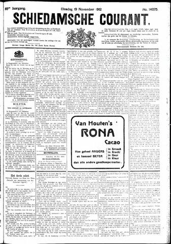 Schiedamsche Courant 1912-11-19