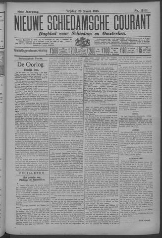 Nieuwe Schiedamsche Courant 1918-03-29
