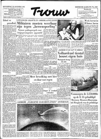 Trouw / De Rotterdammer 1955-08-18