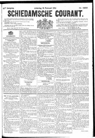 Schiedamsche Courant 1910-02-19