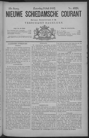 Nieuwe Schiedamsche Courant 1892-07-09